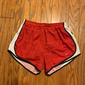 Nike Dri-Fit Red With Black Lining Short